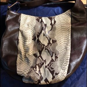 Gucci Greenwich Dark Brown Leather and snake